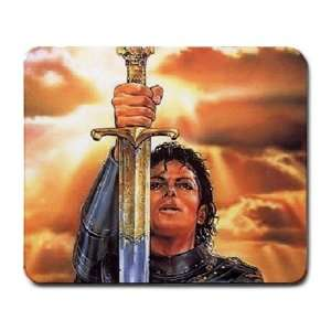 Michael the Warrior, Michael Jackson Collectible Photo