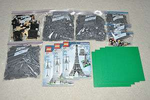 LEGO 10181 EIFFEL TOWER LARGE SCALE MODEL COMPLETE SET + MANUALS