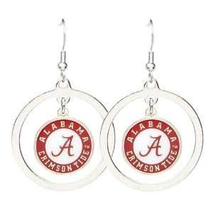 Alabama Crimson Tide A Logo   NCAA Floating Logo Hoop