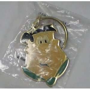 Enamel Keychain  Hanna Barbera the Flintstones Fred
