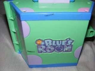 Preschool Blues Clues Blues Room Plus Blue Figures