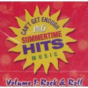 P & G Summertime Hits Music Vol. 1   Rock & Roll Various Music