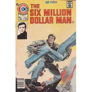 Comics   Six Million Dollar Man #1 Comic Book (Jun 1976