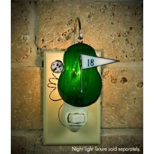 Switchables Stained Glass Golf Night Light Cover Home