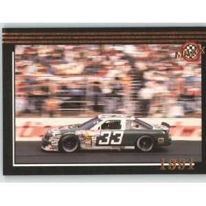 1992 Maxx Black Racing Card # 201 Harry Gants Car MM