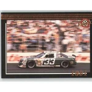 1992 Maxx Black Racing Card # 201 Harry Gants Car MM