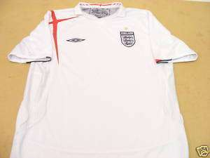 ENGLAND UMBRO 2006 FOOTBALL SOCCER SHIRT JERSEY MEDIUM