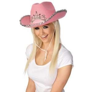 Smiffys Costumes Pink Cowgirl Womens Western Halloween Hat