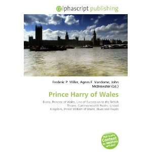 Prince Harry of Wales (9786132710291) Books