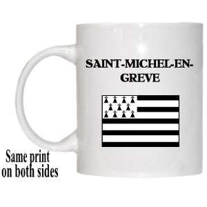 : Bretagne (Brittany)   SAINT MICHEL EN GREVE Mug: Everything Else