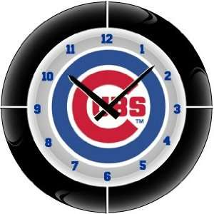 Chicago Cubs MLB Team Neon Everbright Wall Clock