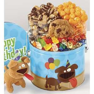 The Popcorn Factory® Birthday Party Pup Fun Pail Mothers Day Gift
