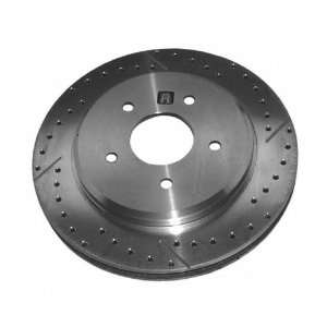 Extreme 55046RX Severe Duty Right Rear Disc Brake Rotor Only   High