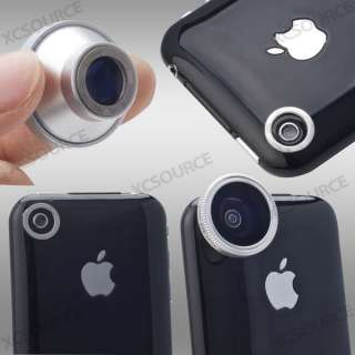 180° Detachable Fish Eye Camera Lens for iPhone 4 4S 4G itouch HTC