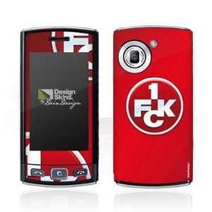 Design Skins for LG GM360   1. FCK Logo Design Folie