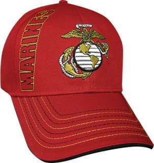 US Armed Forces Ball Cap Hat   Air Force, Army, Marines, Navy