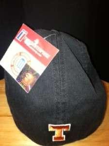 TEXAS LONGHORNS HAT CAP BLACK FRANCHISE