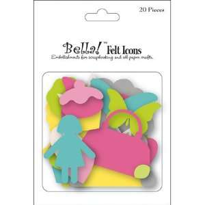 Paper Doll Collection   Die Cut Felt Pieces   Icons Arts, Crafts