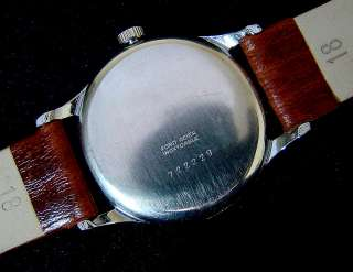 VTG ORISx POINTER TRIPLE DATE CALENDAR MENS WATCH ETA QUICK SET TIME