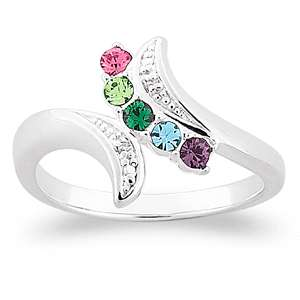 Mothers Personalized Ring Choose Your Own Stones #1