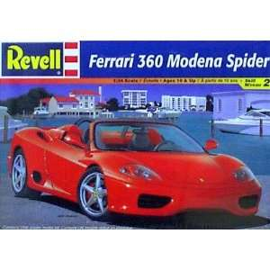 Ferrari 360 Modena Spider Model Kit by Revell Toys