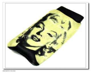 SHIPPING Marilyn Monroe Cell Phone PDA//MP4 Pouch Case Bag