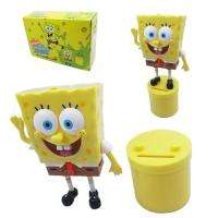 SpongeBob Official Tank particles Piggy Coin Money Bank Figure