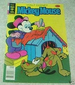 Walt Disneys Mickey Mouse 186, VF  (7.5) Pirate Panic