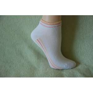 Womens no show ankle white sports socks Toys & Games