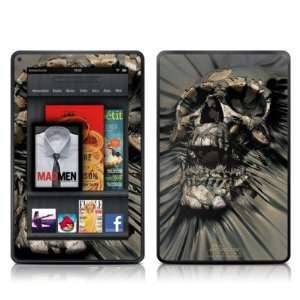 Skull Wrap Design Protective Decal Skin Sticker   High