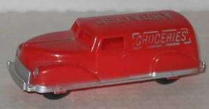 1950s Plastic Grocery Delivery Panel Truck