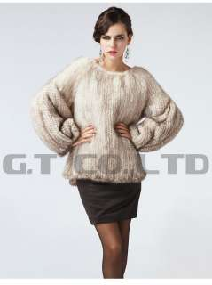knitted hand made mink fur coat coats jacket jackets for women winter