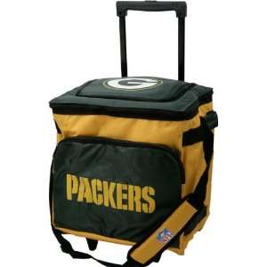 Green Bay Packers Rolling Collapsible Cooler Sports