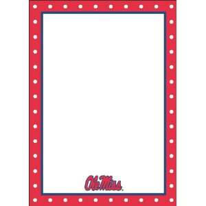 Palm Tree Paperie Ole Miss Rebels Polka Dot Correspondence