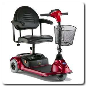 Wheel Power Scooter   Invacare Red   Lynx L 3