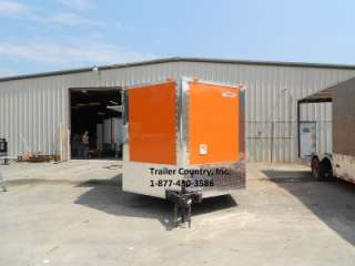 NEW 8.5x20 Enclosed Concession Food Vending BBQ Trailer |