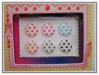 New 4 set Free Polka Dots Home button sticker for iPad iPod iPhone 4S