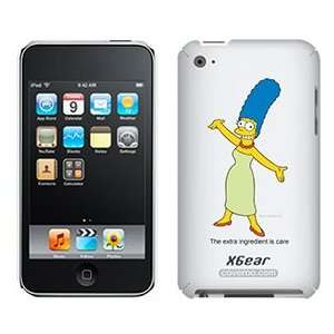 Marge Simpson on iPod Touch 4G XGear Shell Case