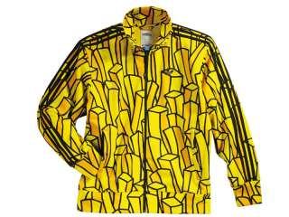 Adidas ObyO Jeremy Scott French Fries Fry Track Jacket