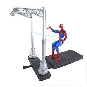 Spider Man Classic Asst. Super Stunt Spider Man: Toys & Games