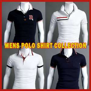 FSM Stylish Design Mens Short Sleeve Polo T Shirt Collection 1
