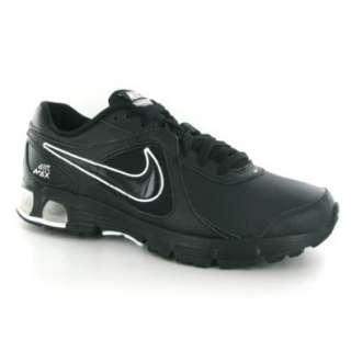 Nike Air Max Run Lite+ 2 Black Leather Mens Trainers
