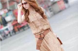 lady elegant chiffon cotton dress full length dresses free size