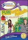 hooked on phonics funtastic animals dvd ntsc 1 new location