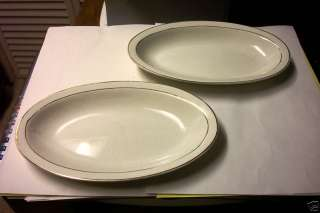 Oval W.S. George Derwood Numbered Plates