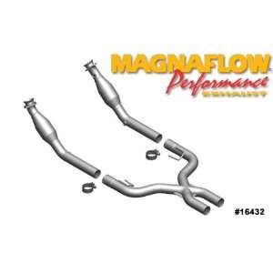 Magnaflow Tru X Stainless Steel Crossover Pipes   07 08 Ford Mustang 4