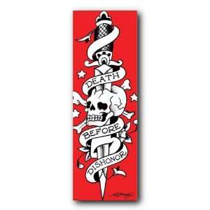 Ed Hardy Death Before Dishonor Door Poster Cpp20114 B