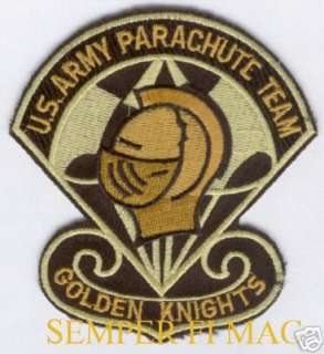 GOLDEN KNIGHTS US ARMY PARACHUTE TEAM AUTHENTIC PATCH