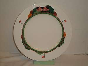 Christopher Stuart Mikasa Optima Fairway Golf Golfers Dinner Plate (s)