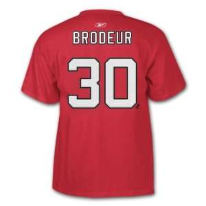 Martin Brodeur NHL Player Name & Number T Shirt
